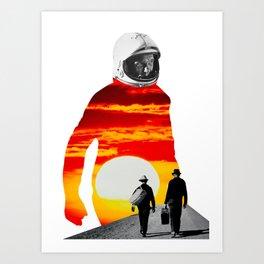 The Sunrise Art Print