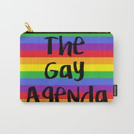 The Gay Agenda Carry-All Pouch