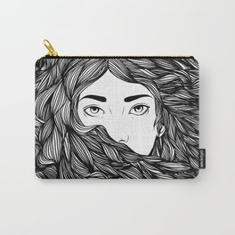 Flowing hair Carry-All Pouch