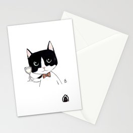 """Casimir"" by Mercredy Lunaris Stationery Cards"
