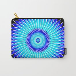 Blueberry Pinwheels and Morning Glory Carry-All Pouch