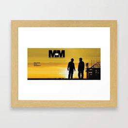 logo Scean Framed Art Print