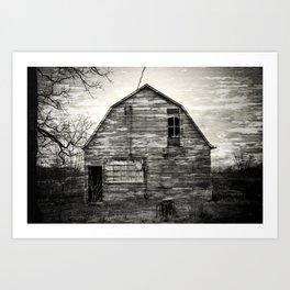 Canadian barn Art Print