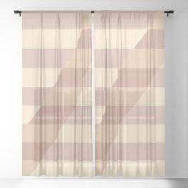 Striped Shadow 3 Sheer Curtain