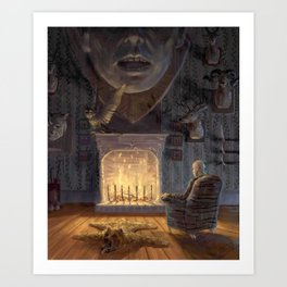 The Poacher Art Print