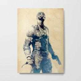 Sam Fisher - Splinter Cell Metal Print