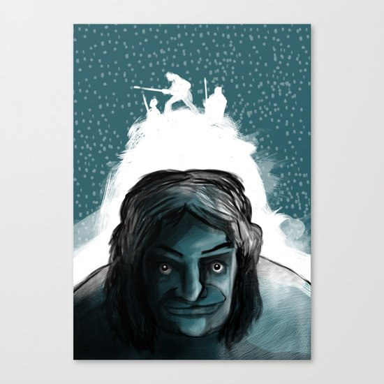 The Iceman Cometh Canvas Print