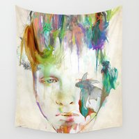 archan nair Wall Tapestries featuring Organic by Archan Nair