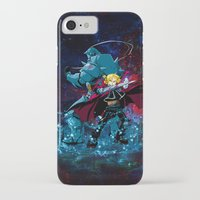 fullmetal alchemist iPhone & iPod Cases featuring Two Alchemist by BradixArt