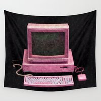 gaming Wall Tapestries featuring Retro Gaming by Cullen Rawlins