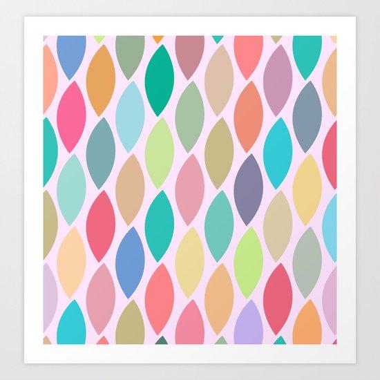 Lovely Pattern II Art Print