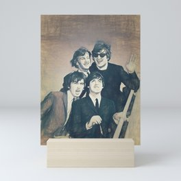 Beatle - John, Paul, George, and Ringo Mini Art Print