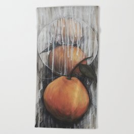 Tangerines Beach Towel