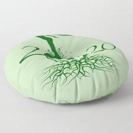 Mother Earth 2020 - Green Floor Pillow