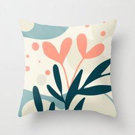 Nature Geometry 08 Throw Pillow