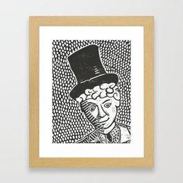 Harpo Marx Framed Art Print