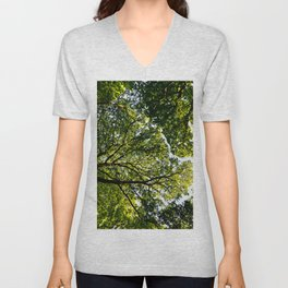 The quiet Forest Unisex V-Neck