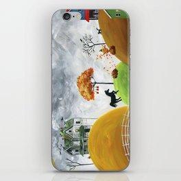 Hilly Halloween iPhone Skin