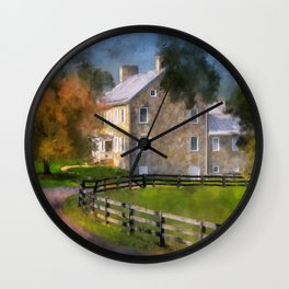 If These Walls Could Talk Wall Clock
