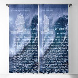 Deep Blue - Moby Dick 2 Blackout Curtain