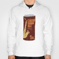 ale giorgini Hoodies featuring Chicago Brown Ale by Moto