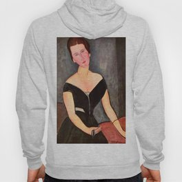"Amedeo Modigliani ""Portrait of Madame Georges Van Muyden.jpg Hoody"