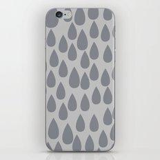 Grey drops iPhone & iPod Skin