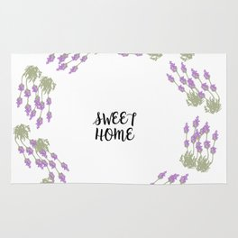lavender for home Rug