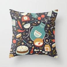 Carrot Cake Throw Pillow