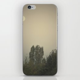 the dry moon iPhone Skin