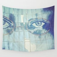 gatsby Wall Tapestries featuring Gatsby by Kayleigh Kirkpatrick