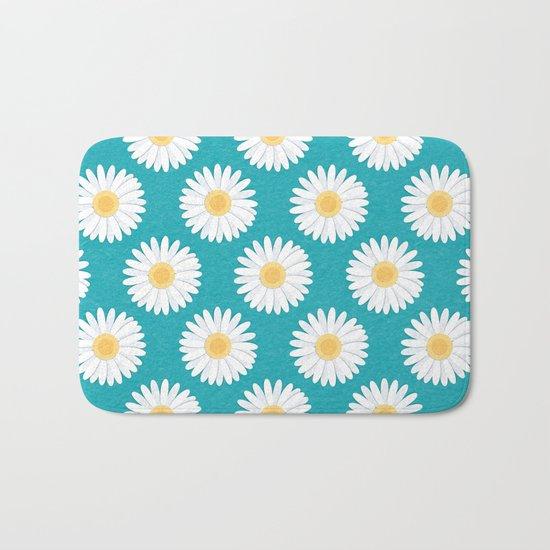 Spring Daisies Bath Mat
