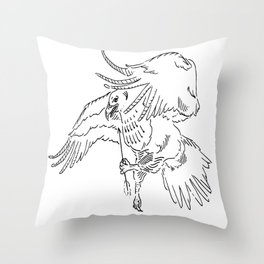 Set Your Sights Throw Pillow