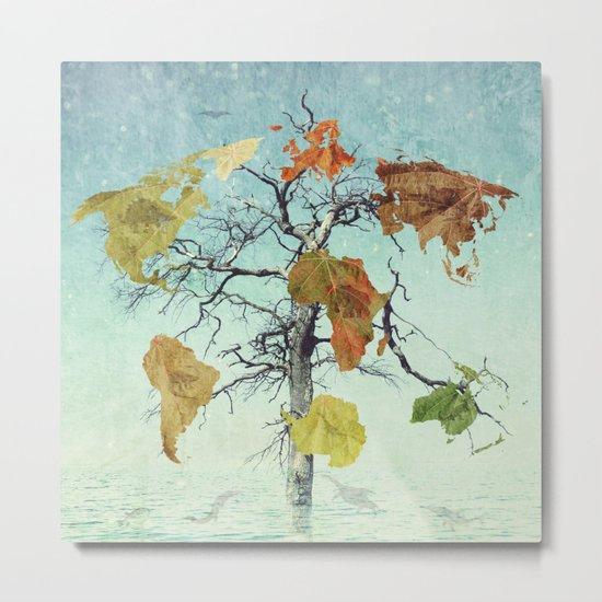 Earth Tree (The Beginnings) Metal Print