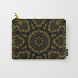 Red Yellow and Black Kaleidoscope Carry-All Pouch