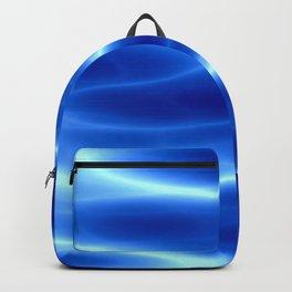 Blue flame Backpack