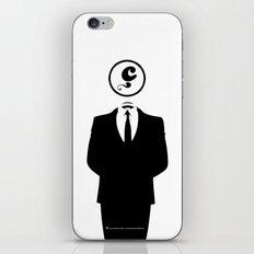 Anonymous / White / Blanc / Les Hameçons Cibles iPhone & iPod Skin