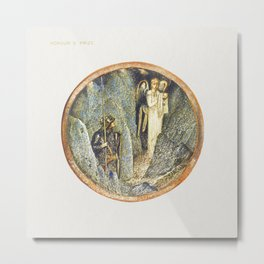 Honour's Prize from The Flower Book (1905) by Sir Edward Burne–Jones Metal Print