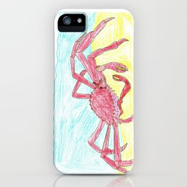 Giant Japanese Spider Crab iPhone Case