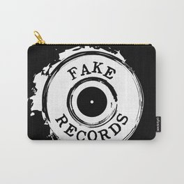 Fake Records Carry-All Pouch