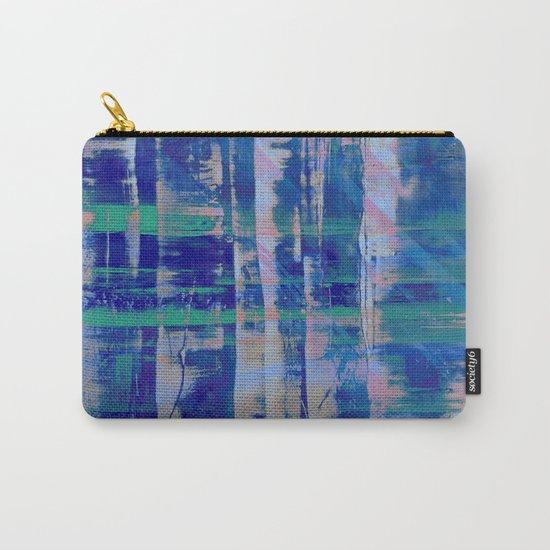 Broken Blue Carry-All Pouch