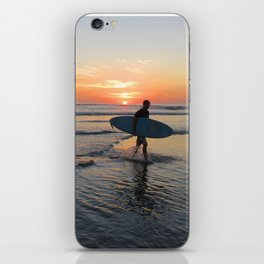 A Day of Surfing Done iPhone Skin