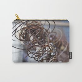 Abstract Wire Carry-All Pouch