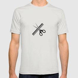 scissors & comb T-shirt