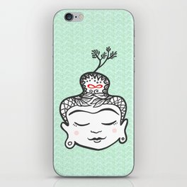 Buddha infinity iPhone Skin