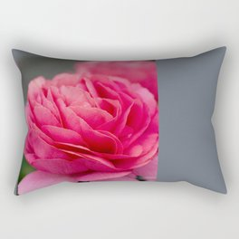 Vivid pink flower Rectangular Pillow