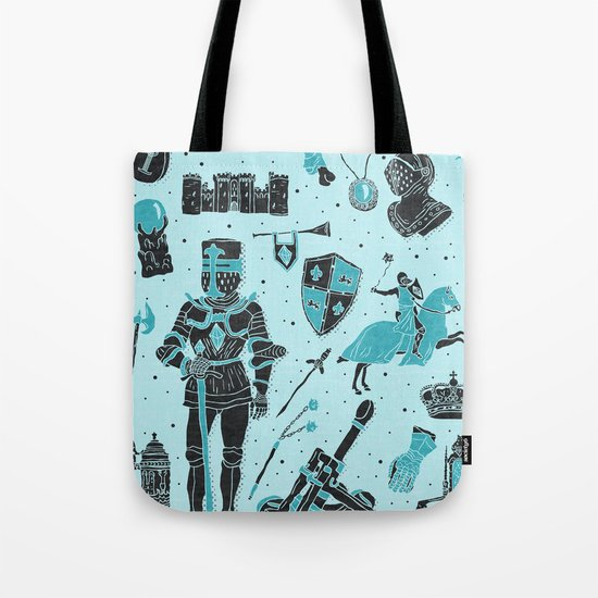 Knightly Tales Tote Bag