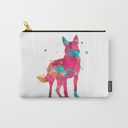Colorful German Shepherd Carry-All Pouch