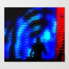 ....and Bass Fell from the Sky Canvas Print