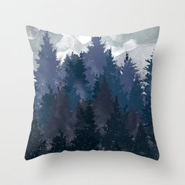 Winter i will never forget you Throw Pillow